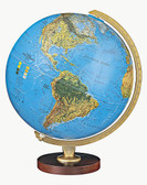 "Replogle Livingston 12"" Blue Illuminated Globe"