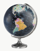 "Replogle Orion 12"" Black Illuminated Globe"
