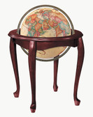 "Replogle Queen Anne 16"" Antique Globe"