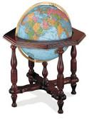 "Replogle Statesman 20"" Blue Illuminated Globe"