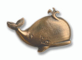 Nautical Cabinet Knobs - Whale -  Minimum of 3