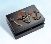 Decorative Pirate Treasure Box
