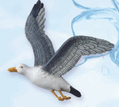 Nautical Theme Rooms Pictures - Soaring Seagull Wall Hanging