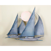 Nautical Sunset Sail Wall Sculpture