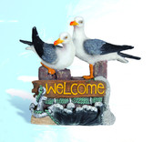 Seagulls Decorative Welcome Sign