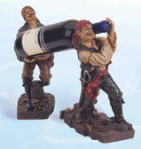 Two Standing Pirates Bottle Holder