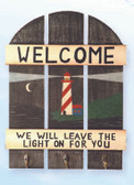 Nautical Sign - Leave The Light On for You