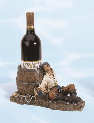 Image Result For Polystone Pirate Wine Holder