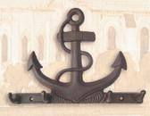 Cast Iron Anchor Key Hook