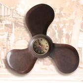 Wooden Propeller Clock