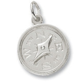 Nautical Jewelry Compass Charm