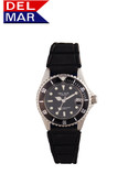 Del Mar Women's 200M Watch with Sport Strap - Black Face