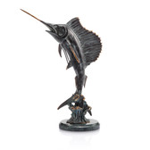 Fishing Sculpture - Tail Walker Sailfish