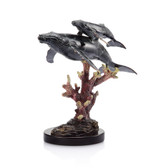 Whale Sculpture - Humpback Whales