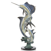 Slam - Marlin & Sailfish Sculpture