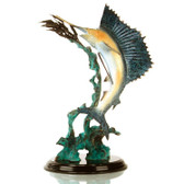 Ballyhoo for Sail - Trophy Fish Decor (Sailfish) Sculpture