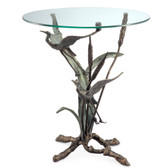 Crane Pair in Flight End Table - 33844