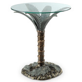 Palm Tree End Table - 33919