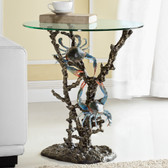 Crabs & Coral End Table - 34014