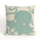 OCTOPUS HOME DECOR - AQUA PILLOW