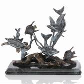 Small Dolphin Seaworld Sculpture