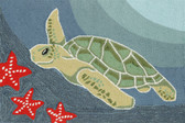 Sea Turtle  Home Decor Ocean Rug