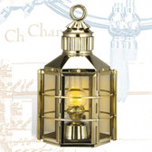 Clipper Ship Touch Lantern 16""