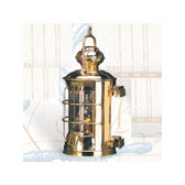 Brass Masthead Electric Lantern 14.5""