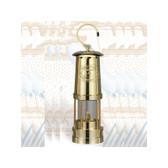 "Miner's Oil Lantern, Brass Finish 10"""