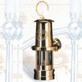 """Nautical Lantern Gimbaled Miner's Oil 10"""""""