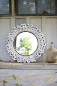 "Oyster Shell Mirror - 24"" Round"