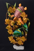 Reef Paradise Scene Metal Sculpture