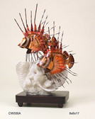 Lion Fish Tropical Tabletop Sculpture