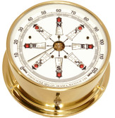Downeaster Wind Speed and Direction Gauge with Tru Gust, Lighthouse Face