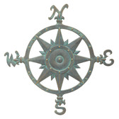 Compass Rose Wall Decor - 23""