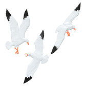 Seagull Trio Wall Decor