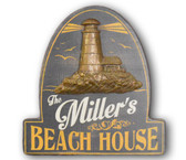 Personalized Beach HouseSign