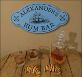 Personalized Rum Bar Sign - 24""