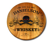 Personalized Pirate Ship Barrel Head Sign - 21""