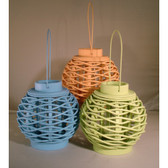 Colored Lanterns - Set of 3