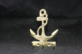 Brass Anchor Key Hanger  with 3 Hooks
