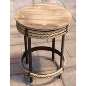 Nautical Parlor Table Stool
