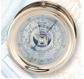 Brass Captain's Barometer - 3 sizes