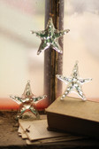 Glass Starfish Ornaments - Set of 4