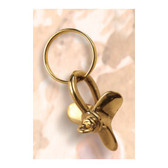 Brass Key Chain - Propeller  #1