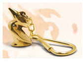 Brass Key Chain - Pelican
