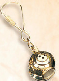 Brass Key Chain -Diving Helmet