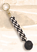 Brass Key Chain - Lanyard with Ball