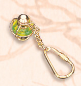 Brass Key Chain - Fancy Lantern