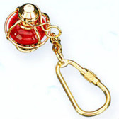 Brass Key Chain - Red Lantern